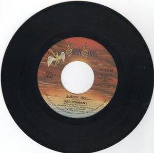 Burnin' Sky (song) - Image: Burnin' Sky (song)
