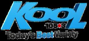 """CFCA-FM - Former """"Kool"""" logo (2012-2016)"""