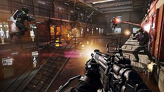 Call of Duty: Advanced Warfare - Advanced Warfare is the first Call of Duty title since Call of Duty 2 to use an engine which has had the majority of it re-written and built-up from scratch by Sledgehammer.