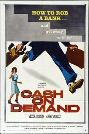 Cash on Demand - Image: Cash on Demand Film Poster