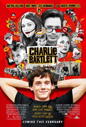 Charlie Bartlett - Theatrical release poster