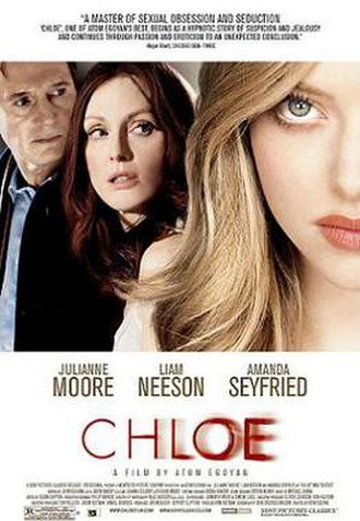 Chloe (film) - US theatrical release poster