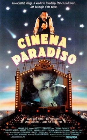 Cinema Paradiso - Original release poster