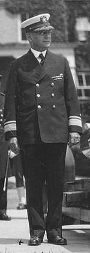 Clarence Stewart Williams - As President of the Naval War College, circa 1923.