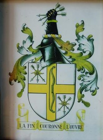 Archer family - Image: Coat of Arms of the Archer family of Longford