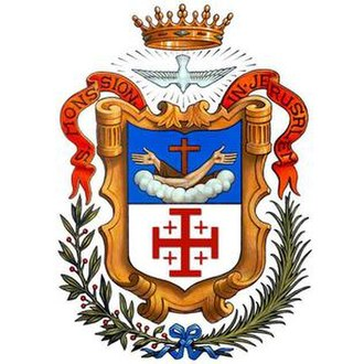 Custody of the Holy Land - Coat of arms of the Custody of the Holy Land