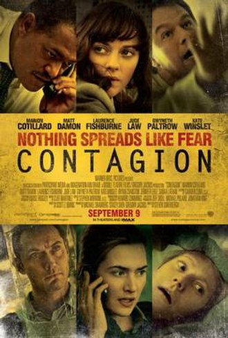 Contagion (film) - Theatrical release poster