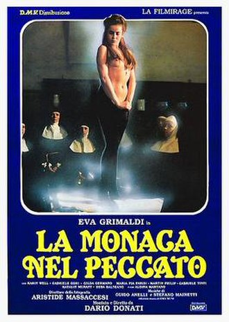 Convent of Sinners - Italian theatrical release poster