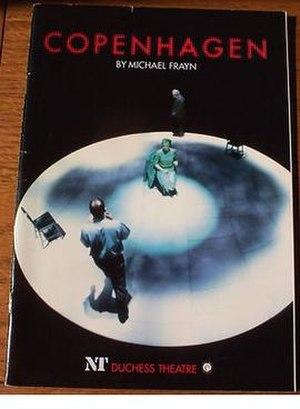 Copenhagen (play) - 1998 Premiere season programme
