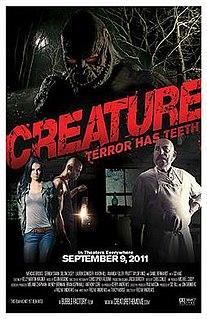 <i>Creature</i> (2011 film) 2011 American monster film