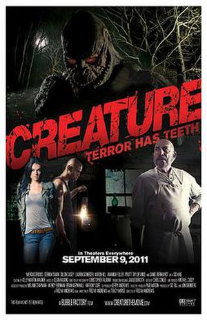 Creature (2011 film) - Theatrical release poster