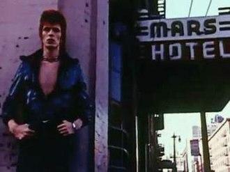 The Jean Genie - David Bowie, 1972, Mars Hotel, 192 Fourth Street  San Francisco, California