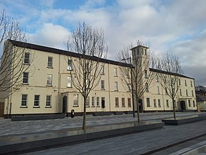 Ebrington Square - Image: Ebrington Clock Tower, Derry