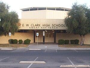 Zick & Sharp - Clark High School, Las Vegas, 1965.