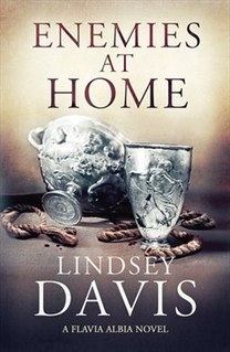 <i>Enemies at Home</i> book by Lindsey Davis