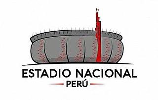 Estadio Nacional del Perú Sports stadium in Lima, Peru