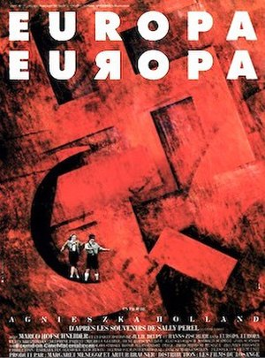 Europa Europa - French theatrical release poster