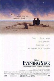 <i>The Evening Star</i> 1996 film by Robert Harling