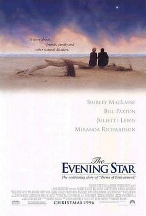 The Evening Star - Theatrical release poster