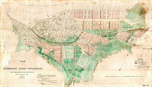 History of Gothenburg - The 1864 expansion plan