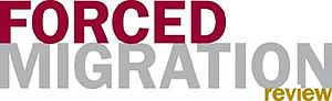 Forced Migration Review - Forced Migration Review logo.