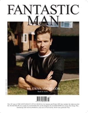 Fantastic Man (magazine) - Cover of FANTASTIC MAN Fall/Winter 2009/10.