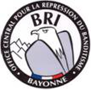 Research and Intervention Brigade - Logo of the BRI of Bayonne