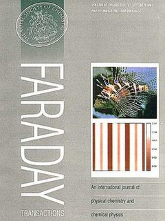 <i>Journal of the Chemical Society, Faraday Transactions</i> Academic journal