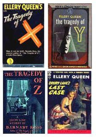 Drury Lane (character) - Image: Fourbookcovers