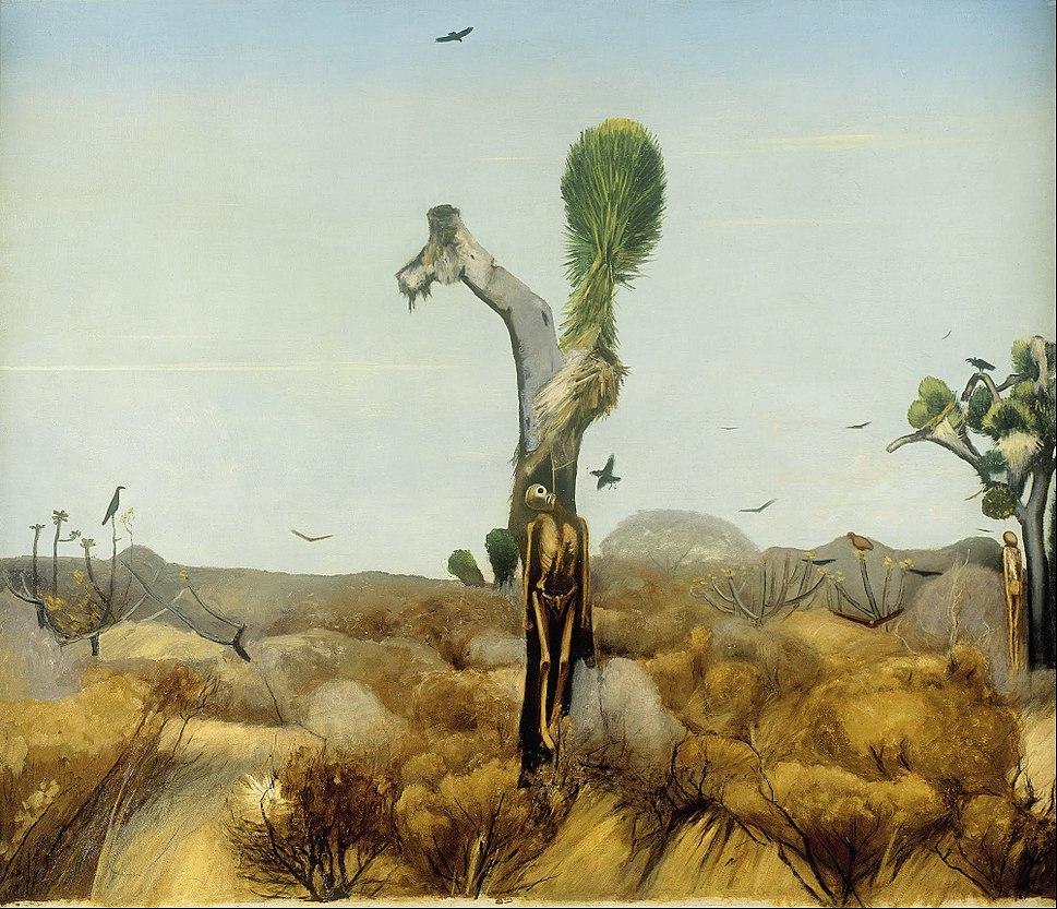 Francisco Goitia - Zacatecas Landscape with Hanged Men II - Google Art Project