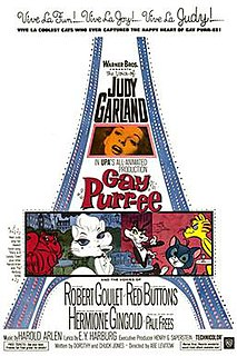 <i>Gay Purr-ee</i> 1962 film by Abe Levitow
