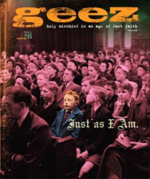 Geez (magazine) - Image: Geez Magazine Cover