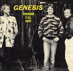 Throwing It All Away - Image: Genesis Throwing It All Away