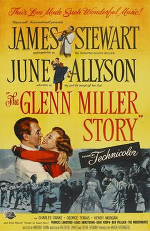 The Glenn Miller Story - Promotional movie poster for the film