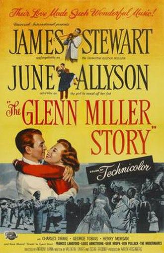 The Glenn Miller Story - Promotional movie poster for the film