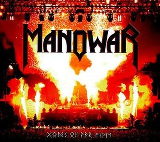 <i>Gods of War Live</i> 2007 live album by Manowar