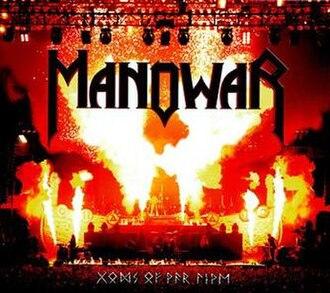 Gods of War Live - Image: Gods of War Live cover