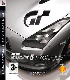 <i>Gran Turismo 5 Prologue</i> 2007 video game