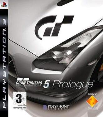 Gran Turismo 5 Prologue - European cover art