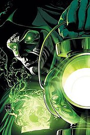 Promotional art for Green Lantern: Rebirth #1 (December 2004) cover, art by Ethan Van Sciver.