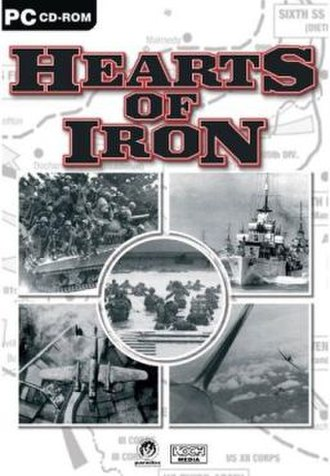 Hearts of Iron - Image: Hearts Of Iron Box