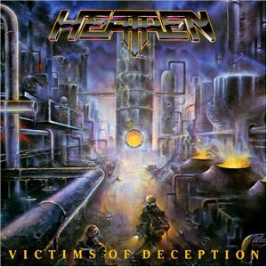 Victims of Deception - Image: Heathen, 2 Album Cover
