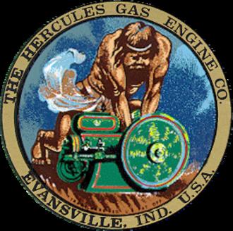 Hercules Gas Engine Company - Logo of the Hercules Gas Engine Company