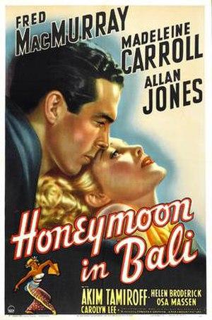 Honeymoon in Bali - Image: Honeymoon in Bali film poster