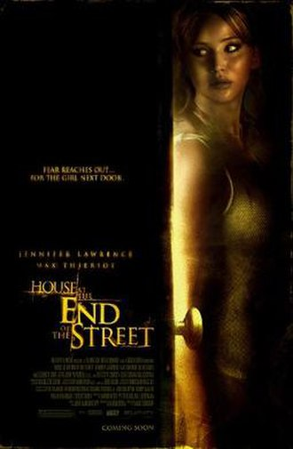 House at the End of the Street - Theatrical release poster