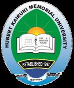 Hubert Kairuki Memorial University Logo.png