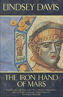 <i>The Iron Hand of Mars</i> book by Lindsey Davis