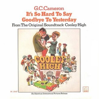 It's So Hard to Say Goodbye to Yesterday - Image: Its So Hard To Say Goodbye GC1975