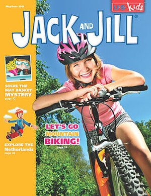 Jack and Jill (magazine) - March 2008 cover