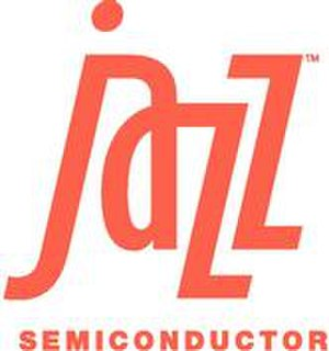 Jazz Semiconductor -  Logo in 2006 before acquisitions